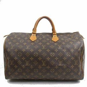 Auth Louis Vuitton Speedy 40 Boston Bag #2069L20